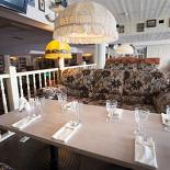 """Ресторан Хоум - фотография 4 - Зал """"Чердак"""" - второй этаж, уютно, мягко, по-домашнему."""