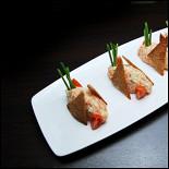 Ресторан Felice - фотография 6 - Белый тар-тар из лосося 350 рублей
