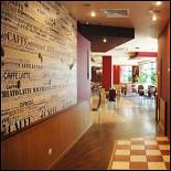 Ресторан Кофе арт - фотография 1 - Вход в основной зал