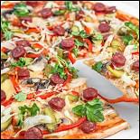 Ресторан Grand Pizza - фотография 3 - Пицца баварская