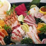 "Ресторан Сушишеф - фотография 3 - Ассорти сасими из меню ""Сушишеф"""