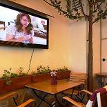 Ресторан Берлога - фотография 2 - летняя веранда