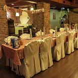 Ресторан Da Pino - фотография 2 - Банкетный зал. Идеальное место для детских банкетов, потому что для ребят приготовлено специальное детское меню и рядом расположена игровая комната.