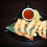 Ресторан Часы - фотография 3 - Хрустящие креветки.