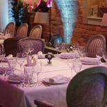 Ресторан Legran - фотография 3 - Каминный зал. Вместимость 50 гостей/банкет, 100 гостей/фуршет. При объединении с барным залом до 70 гостей/банкет, до 120 гостей/фуршет