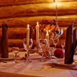 Ресторан Bellagio - фотография 3 - Охотничий зал на 40 человек