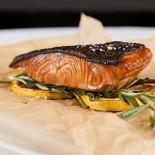 Ресторан Borgato - фотография 4 - Черная треска с лимоном и розмарином