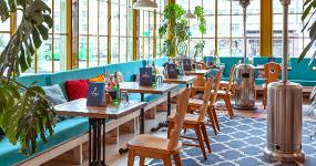В Екатеринбурге разрешили работу летних веранд кафе и ресторанов