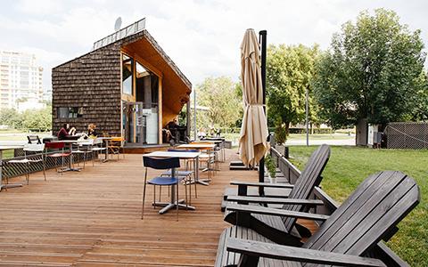 Caffe del parco в «Музеоне»