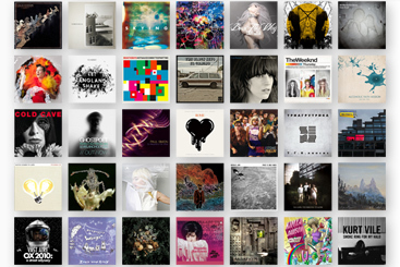 Альбомы года