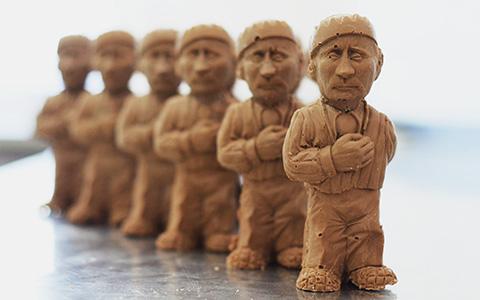 Шоколадные политики и другие безумные продукты кондитерской индустрии