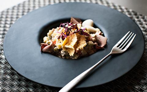 15 салатов оливье из московских ресторанов