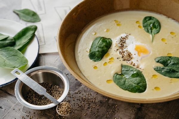 суп-крем из брокколи на основе сливок (410 р.)