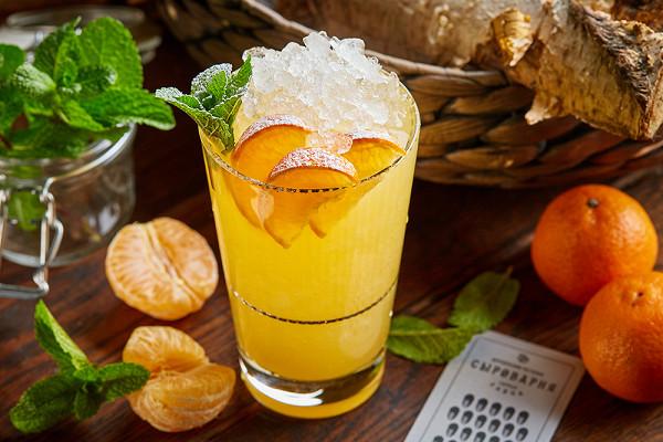 лимонад «Снежный мандарин» (350 р./1050 р.)