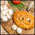 Ресторан Главпирог - фотография 8 - Пирог с кроликом и грибами