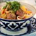 Ресторан Самарканд - фотография 11 - «Лагман» (тонкая домашняя лапша с кусочками баранины)