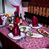 Ресторан Лобио - фотография 1 - Накрытый стол для дорогих гостей.