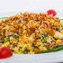 Ресторан Золотой бамбук - фотография 40 - КОМ РАНГ ТХИТ БО Рис, обжаренный с  говядина, мидиями, яйцом, морковью, горохом, кукурузой, грибами Шиитаке, репчатым и зелёным луком в соевом соусе.