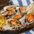 Ресторан Dandy Café - фотография 12 - Новое меню DandyCafebyArtemKorolev. зеленые мидии, запеченые на морской соли с помидорами и душистыми травами