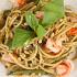 Ресторан Borgato - фотография 3 - Спагетти с песто и креветками