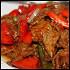 Ресторан Норд стар - фотография 4 - Еда Говядина с паприкой