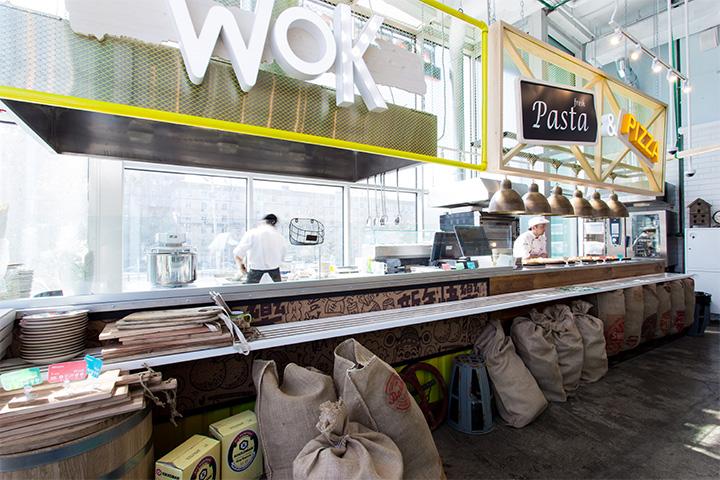 Магазин и кафе бургерная фарш