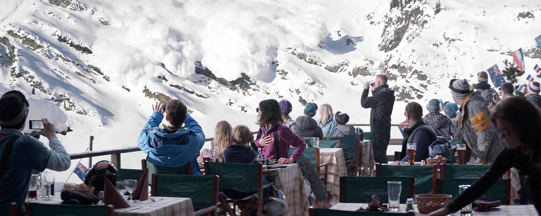 «Форс-мажор» Рубена Эстлунда: загорелые на лыжах