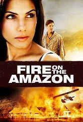 Постер Амазонка в огне