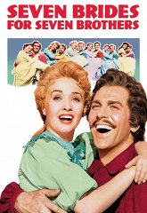 Постер Семь невест для семи братьев
