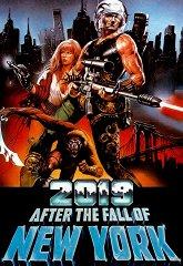 Постер 2019 год после падения Нью-Йорка