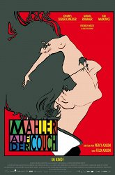 Постер Малер на кушетке