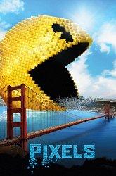 Постер Пиксели