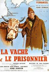 Постер Корова и солдат