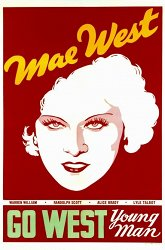 Постер Мэй Уэст навсегда