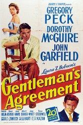 Постер Джентльменское соглашение