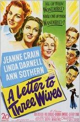 Постер Письмо трем женам