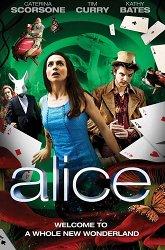 Постер Алиса и тайна Зазеркалья