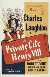 Постер Частная жизнь Генриха VIII