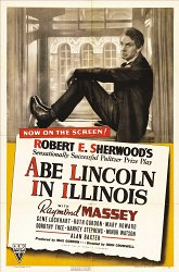 Постер Эйб Линкольн в Иллинойсе