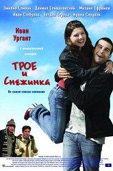 Постер Трое и Снежинка