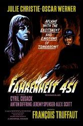Постер 451 градус по Фаренгейту