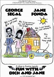 Постер Забавные приключения Дика и Джейн