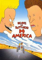 Постер Бивис и Баттхед уделывают Америку
