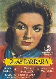 Постер Донья Барбара