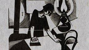 Ксилография из коллекции Русского музея