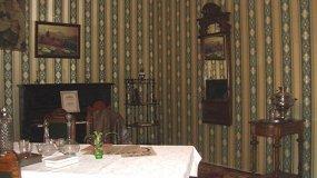 Зеленая гостиная в доме управляющего