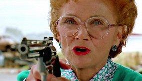 Стой! А то мама будет стрелять