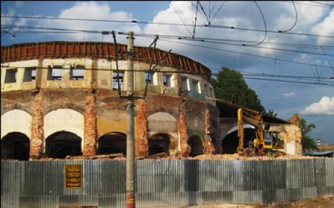 Круговое депо, ДК «Октябрь», Можайские бани и другие разрушенные памятники на выставке «Архнадзора» в Artplay