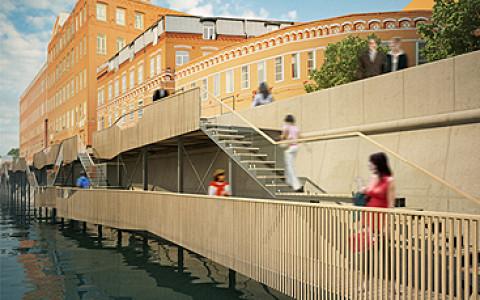 Деревянные пристройки, город-сад, бульвар на воде и другие идеи архитекторов