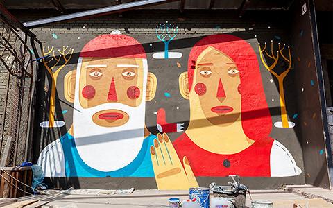 10 совсем свежих примеров стрит-арта на улицах Москвы